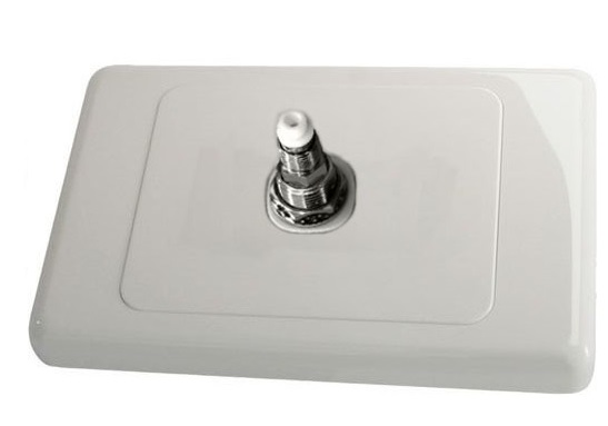 FME Female Wall Plate Kit Single