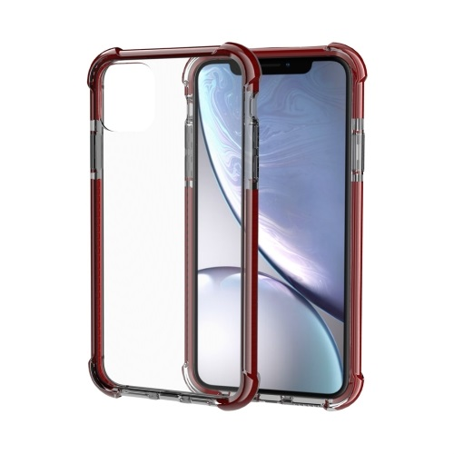 Shockproof TPU And Acrylic Protective Case For iPhone 11 Brown