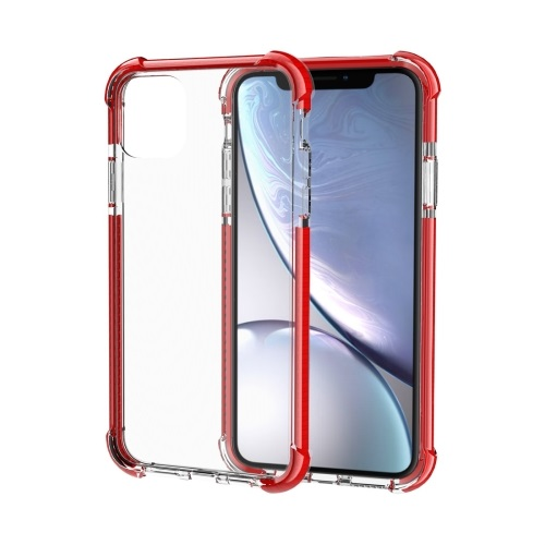 Shockproof TPU And Acrylic Protective Case For iPhone 11 Red