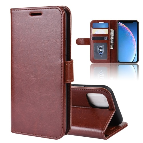 Wallet Case For iPhone 11 Brown
