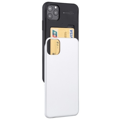 Goospery Slide Bumper Case For iPhone 12 And iPhone 12 Pro White