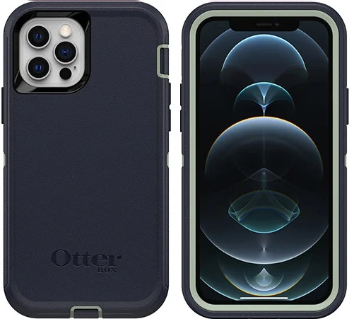 OtterBox Defender Series Case For iPhone 12 And iPhone 12 Pro Varsity Blue