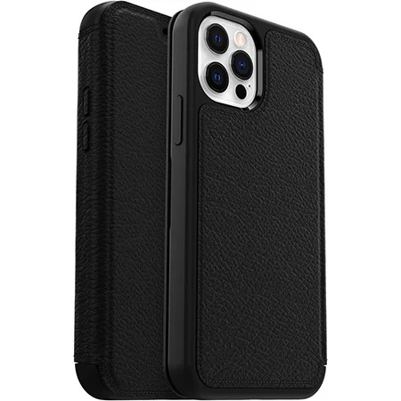 OtterBox Strada Series Case For Apple iPhone 12 And iPhone 12 Pro Shadow Black