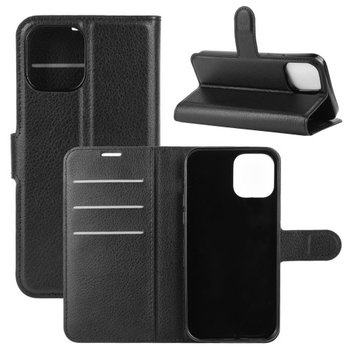 Wallet Case Black For iPhone 12 And iPhone 12 Pro Black