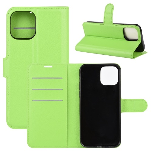 Wallet Case Black For iPhone 12 And iPhone 12 Pro Green