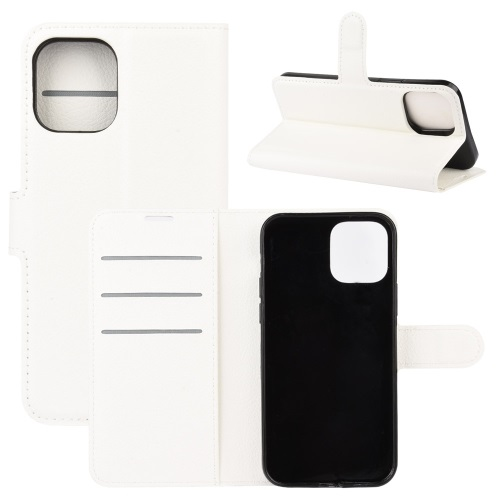 Wallet Case Black For iPhone 12 And iPhone 12 Pro White