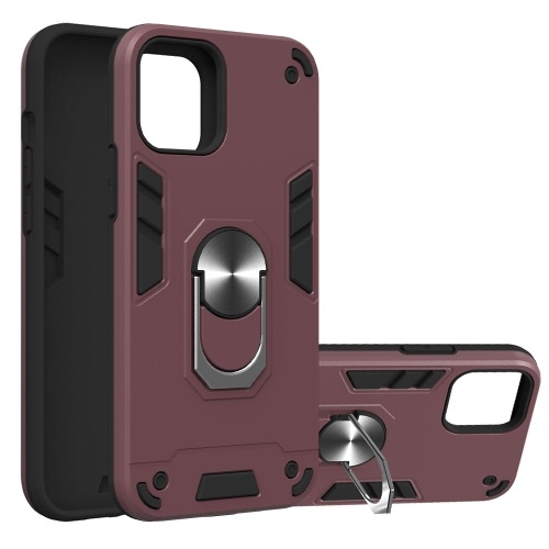 Tough Case For iPhone 12 And iPhone 12 Pro Wine Red