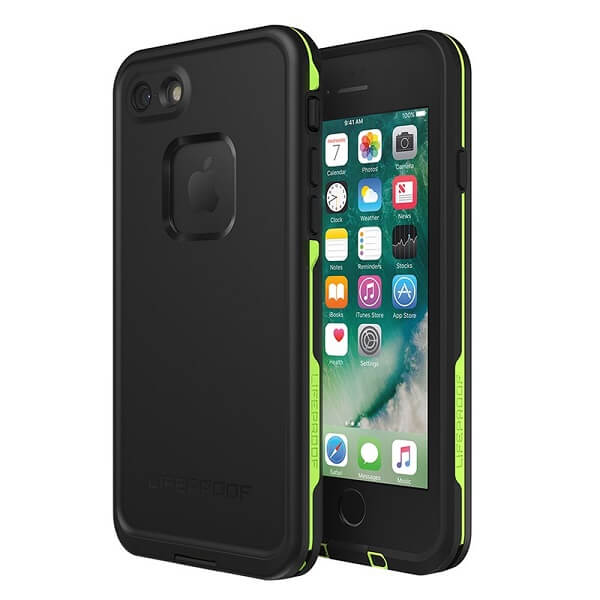 LifeProof Fre Case suits iPhone 8 Black/Lime