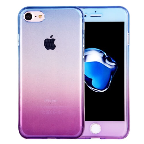 iPhone 8 Gradient TPU Case Blue And Purple