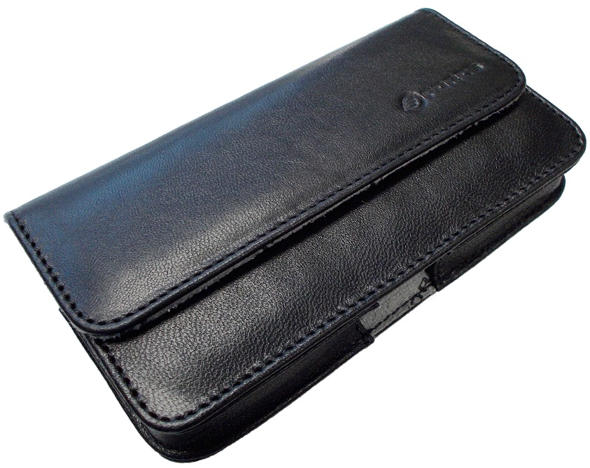 Samsung Galaxy S5 Leather Pouch Black