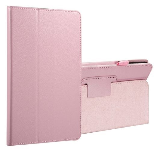 Galaxy Tab A 8.0 (2017) PU Leather Case Pink