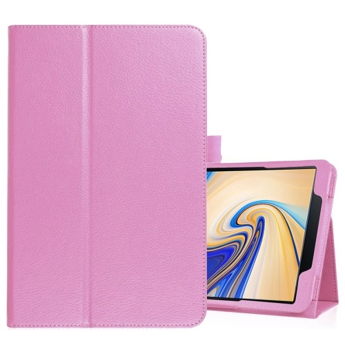 Galaxy Tab S4 PU Leather Case Pink