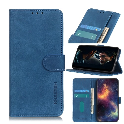 Telstra Essential Smart 3 Wallet Case Blue